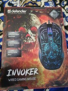 Мыши - Проводная игровая мышь Defender Invoker GM-947…, 0