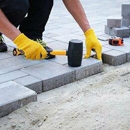 Тротуарная плитка, бордюр - Укладка тротуарной плитки, 0