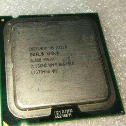 Процессоры (CPU) - Intel Xeon X3210 (4 ядра).Сокет 775, 0