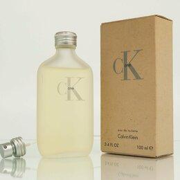 Парфюмерия - Ck One (Calvin Klein) туалетная вода (EDT) 100 мл, 0