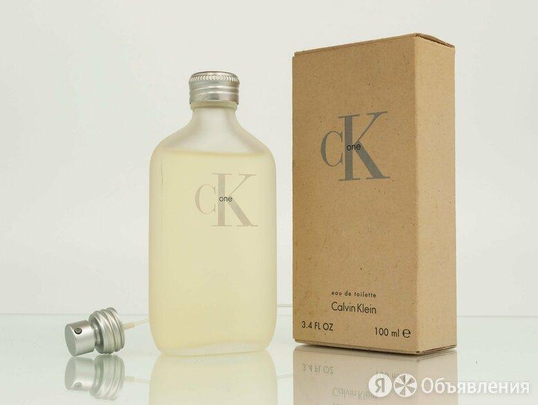 Ck One (Calvin Klein) туалетная вода (EDT) 100 мл по цене 3100₽ - Парфюмерия, фото 0