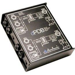 Прочее оборудование   - ART dPDB Директ-бокс, 2-канальный, пассивный, 0