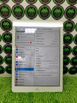 Планшеты - iPad Air 32Gb Wi-Fi (б/у) Silver, 0