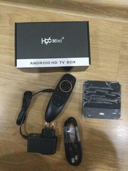 ТВ-приставки и медиаплееры - Андроид приставка Н96 2+16гб с голосовым поиском, 0