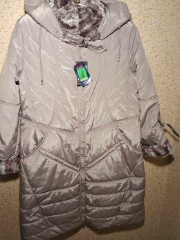 Пальто - Новое женское зимнее пальто 58 размера от…, 0