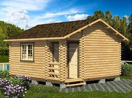 Готовые строения - Хозблок из мини-бруса 5х5 «Дом садовода», 0