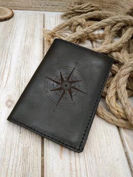 Обложки для документов - Обложка на паспорт ручной работы, 0