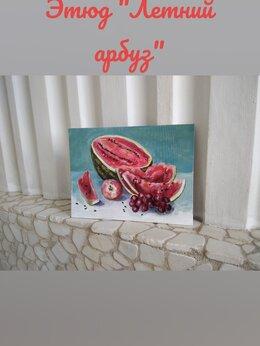 Картины, постеры, гобелены, панно - Картина натюрморт акрил, 0