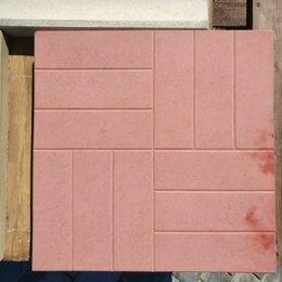 Тротуарная плитка, бордюр - Тротуарная плитка Восемь кирпичей, 0