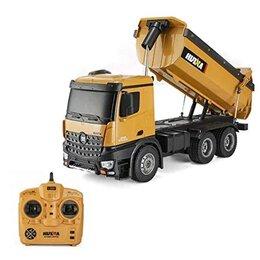 Радиоуправляемые игрушки - Радиоуправляемый самосвал HUI NA TOYS масштаб…, 0