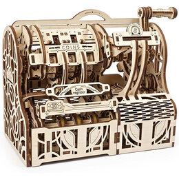 Новогодние фигурки и сувениры - Кассовый аппарат, деревянный 3D-пазл Ugears, 0