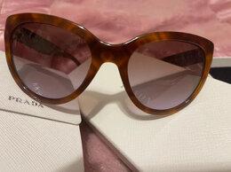 Очки и аксессуары - Женские солнцезащитные очки prada SPR 05P MAU 6P1, 0