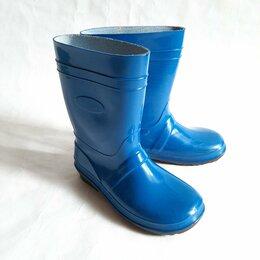 Резиновые сапоги и калоши - Детские резиновые сапоги, синие, 0