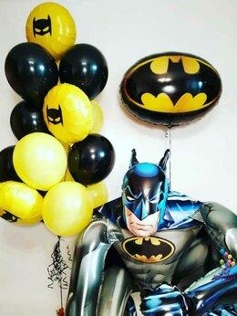 """Воздушные шары - Композиция """"Самый Лучший Бэтмен"""", 0"""