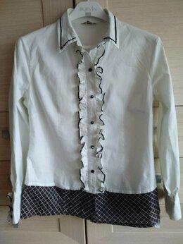 Блузки и кофточки - Белая блузка 46 р , 0