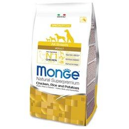 Корма  - Сухой корм Monge Dog Speciality Line Chicken…, 0