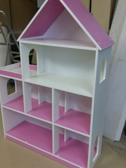 Хранение игрушек - Стеллаж шкафчик домиком. Дом полка домик шкаф А-2, 0