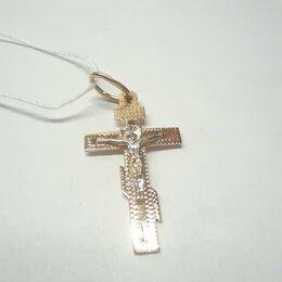 Кулоны и подвески - Крест золото, 0