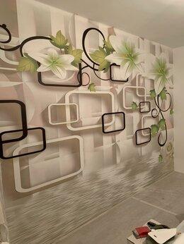 Обои - Фотообои 3д с цветами для стен , 0