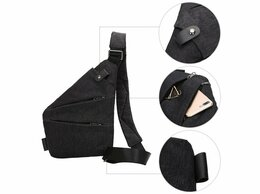 Дорожные и спортивные сумки - Сумка кобура Fino (серый), 0