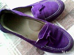 Мокасины - Мокасины фиолетовые , 0