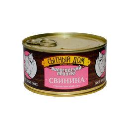 Продукты - Свинина тушеная 325 г, 0
