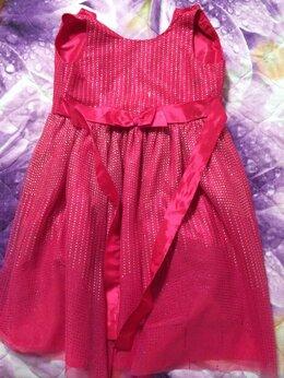 Платья и сарафаны - Детское розовое блестящее платье, 0