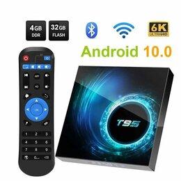 ТВ-приставки и медиаплееры - ТВ BOX  Смарт ТВ приставка 4G-32G (новый в упаковке), 0