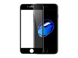 Чехлы - Защитное cтекло 9D для IPhone 6P/6SP с черной…, 0