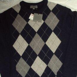 Свитеры и кардиганы - Кашемир свитер Daniel Bishop 2-х слойный L Argyle, 0