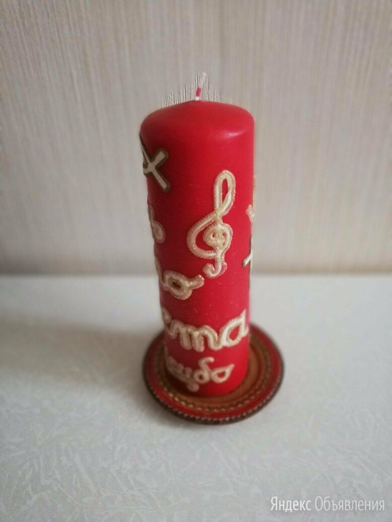 Декоративная свеча по цене 900₽ - Декоративные свечи, фото 0