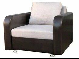 Кресла - Кресло кровать новое беж.рогожка подлокотники…, 0