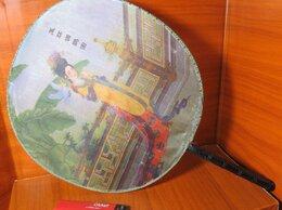 Другое - Винтажный веер, Китай, шелк, 0