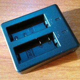 Зарядные устройства и адаптеры питания - USB-зарядка для 2 аккумуляторов экшн камер, 0