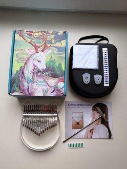 Щипковые инструменты - Акриловая калимба в богатой комплектации, 0