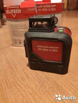 Измерительные инструменты и приборы - Лазерный нивелир Elitech лн 360/1-зел, 0