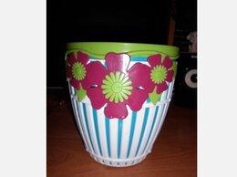 Горшки, подставки для цветов - Кашпо пластиковое, 0