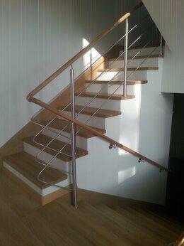 Лестницы и элементы лестниц - Перила из нержавеющей стали, 0