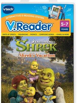 Игры для приставок и ПК - Игра для приставки V.Reader -  Shrek's Vacation, 0