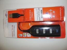 USB-концентраторы - Orient TA-100 на 4 порта USB 2.0, 0