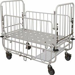 Оборудование и мебель для медучреждений - Детская медицинская кровать, 0