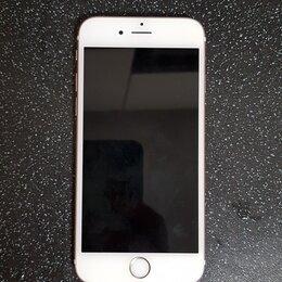 Мобильные телефоны - iPhone 6S, Айфон 6S, б/у, отпечаток Touch ID не работает, а кнопка рабочая, 0