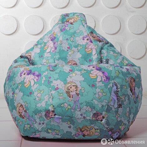 Бескаркасное кресло-мешок Груша XXL Pony 01 по цене 3300₽ - Кресла-мешки, фото 0