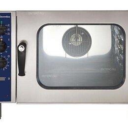 Жарочные и пекарские шкафы - Печь конвекционная Electrolux Professional Crosswise 6 GN 1/1 (260705), 0