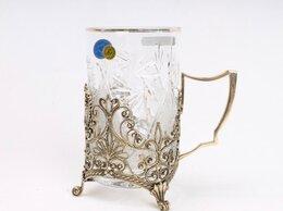 Бокалы и стаканы - подстаканник из филиграни «Герб», 0