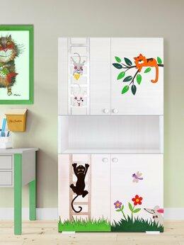 Хранение игрушек - Шкаф для игрушек и книг детский (детский книжный…, 0