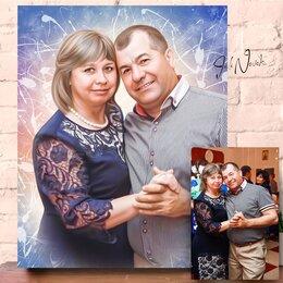 Картины, постеры, гобелены, панно - Портрет по фото Дрим Арт/ Поп арт/ Love is и д.р, 0