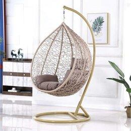 Плетеная мебель - Подвесное кресло AFM-169A-XLB Beige, 0