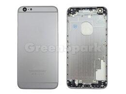 Корпусные детали - Задняя крышка для iPhone 6 Plus (серый) класс AAA, 0