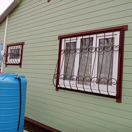 Сетки и решетки - Решётки на окна двери ограды, 0